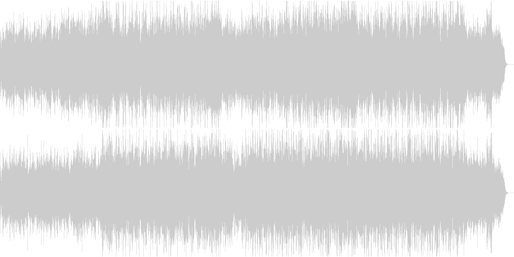 温かく切ない感動ピアノ管弦楽1全楽器フルの未再生の波形