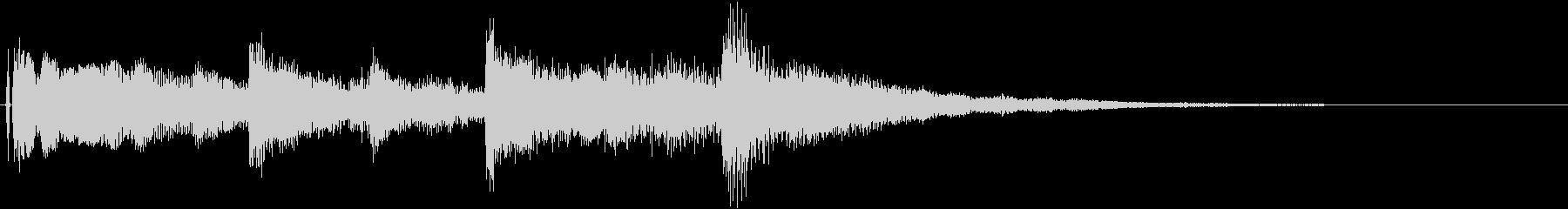 オープニング用ジングル120/ロングの未再生の波形