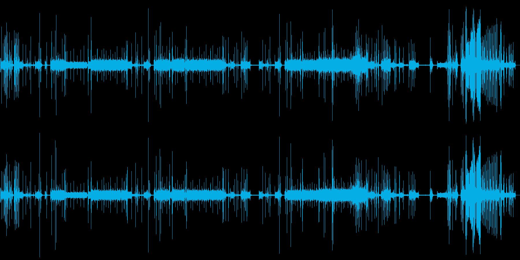 【生録音】家庭用プリンター03ロングの再生済みの波形