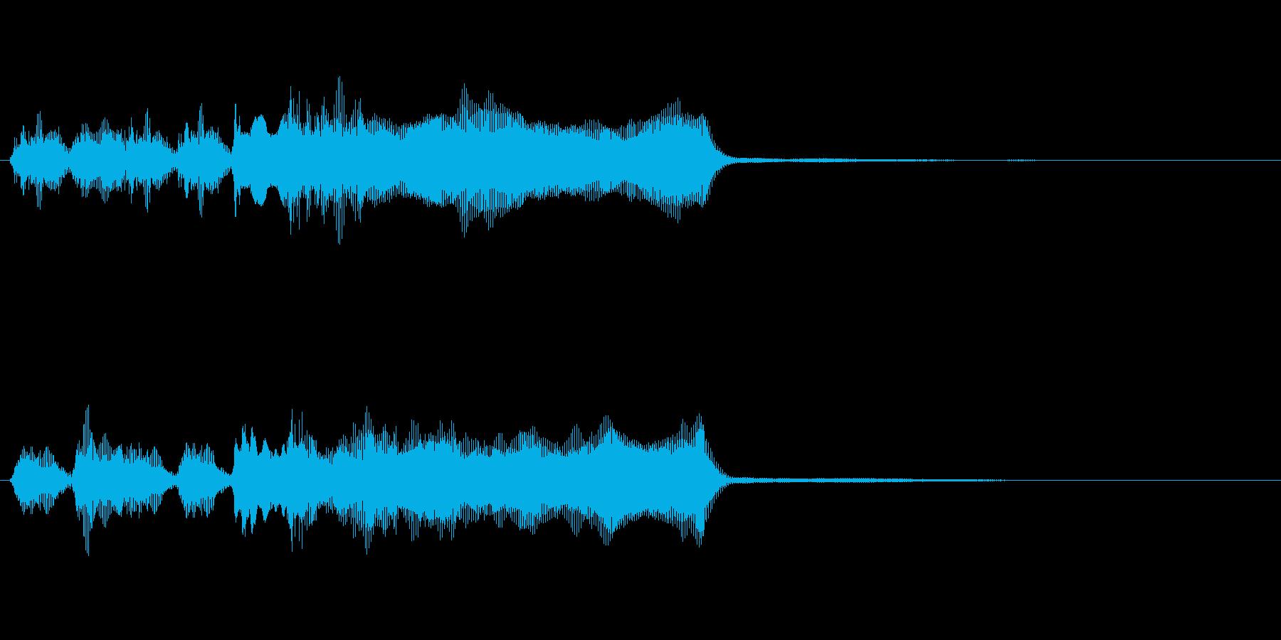 玩具系ファンファーレ-02の再生済みの波形