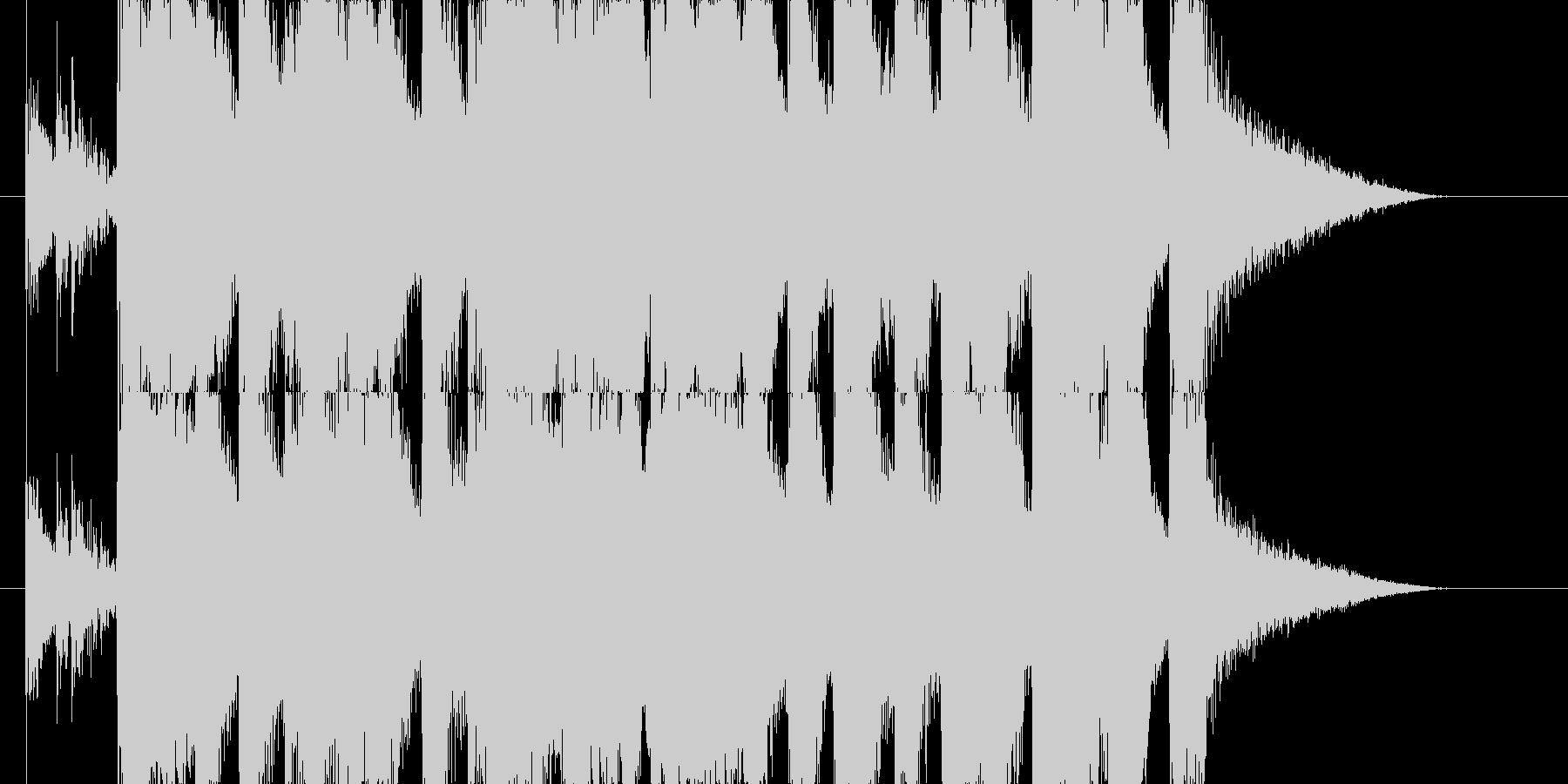 ブラス(金管楽器)系のカジノ的ジングルの未再生の波形