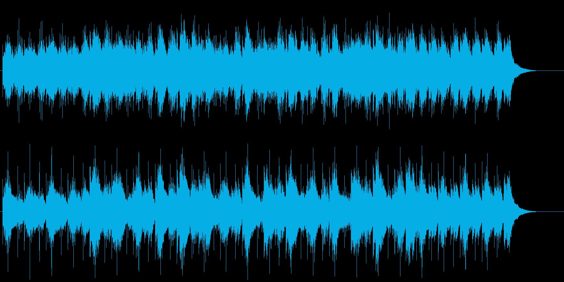 アコースティックギターの響きが心地よいの再生済みの波形