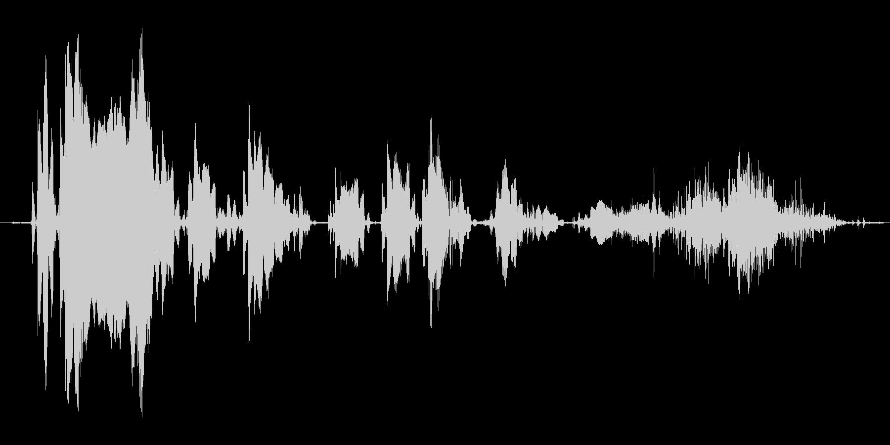 (おばけの鳴き声)の未再生の波形