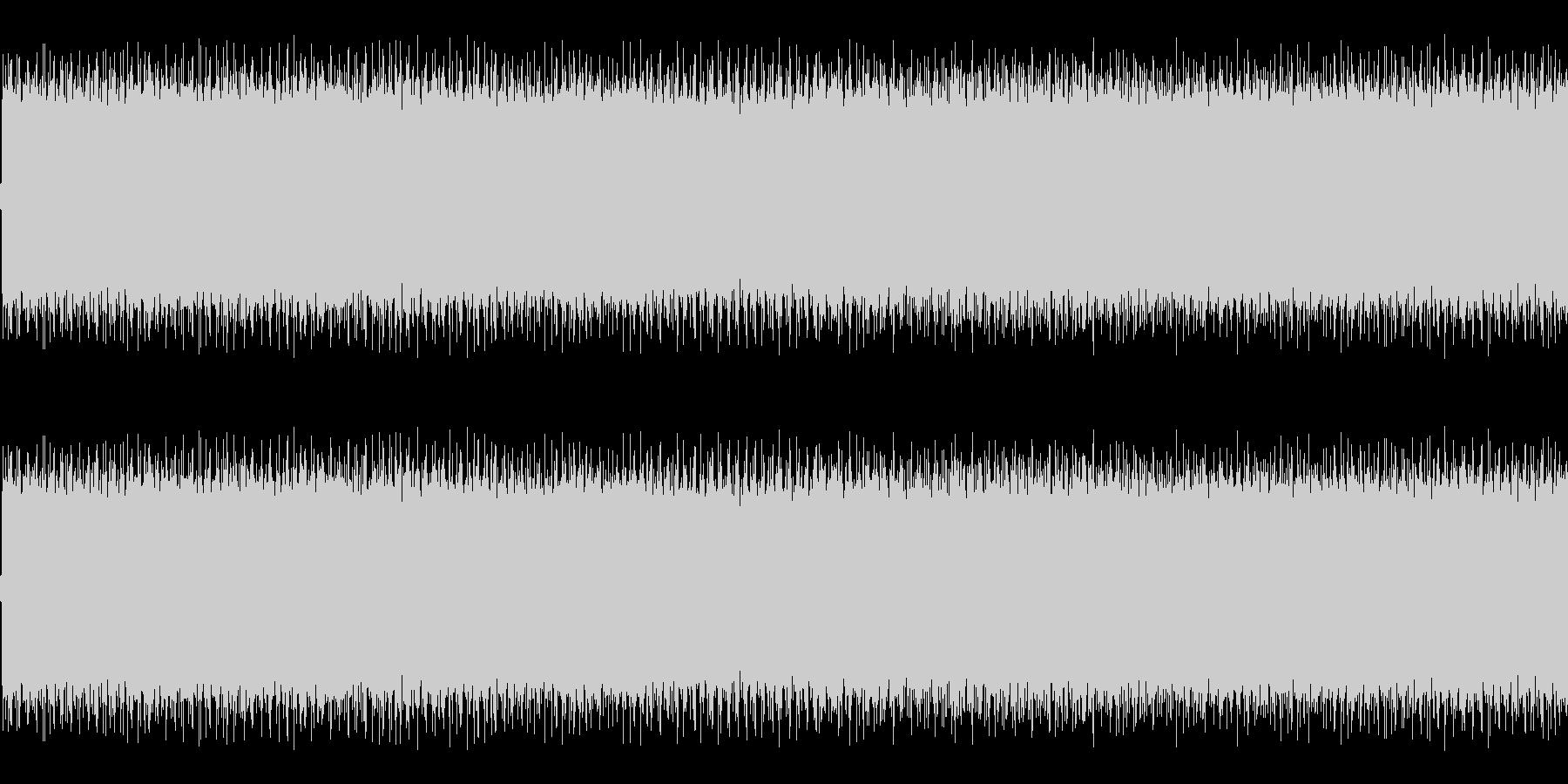 アメリカのパトカーのサイレン音の未再生の波形