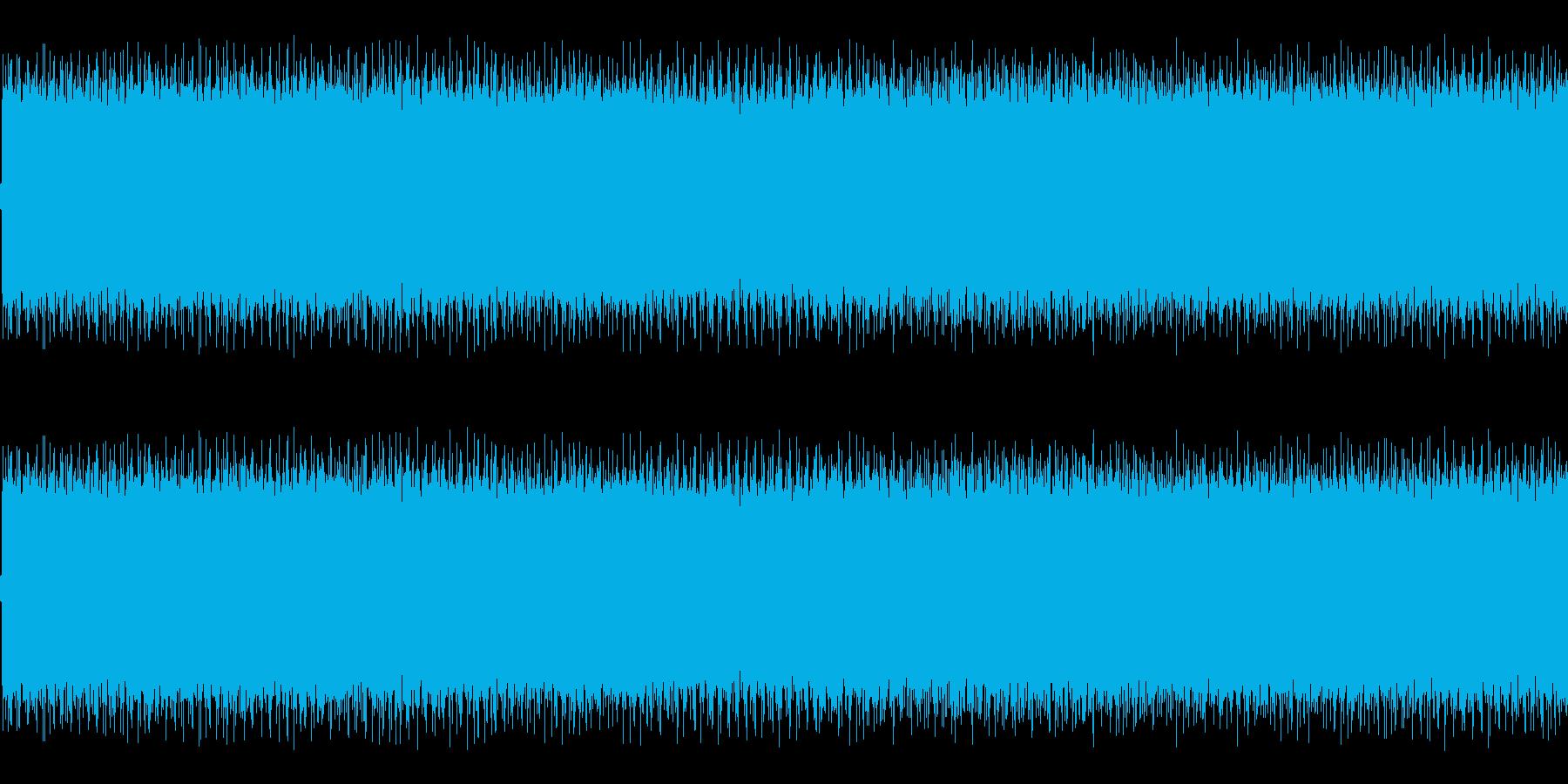 アメリカのパトカーのサイレン音の再生済みの波形