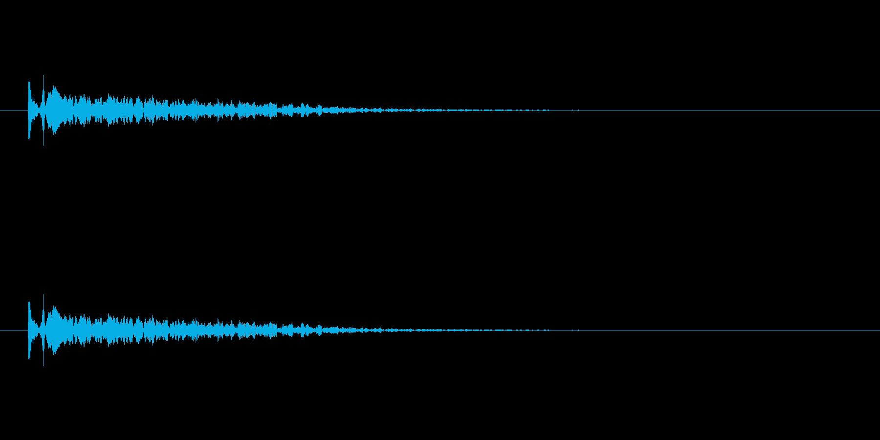 【光る07-1】の再生済みの波形