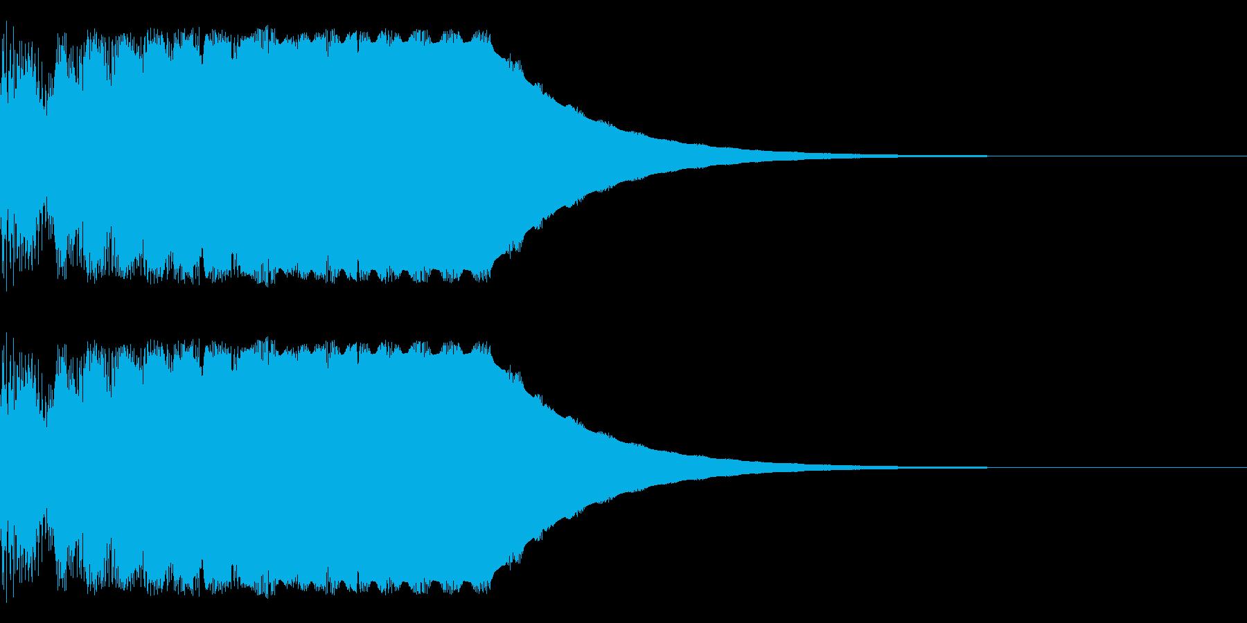 テロップ等にの再生済みの波形