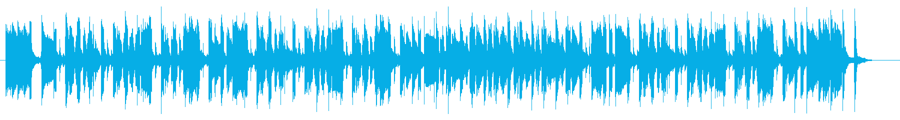 マリンバがほっこりさせる童謡みたいな曲の再生済みの波形