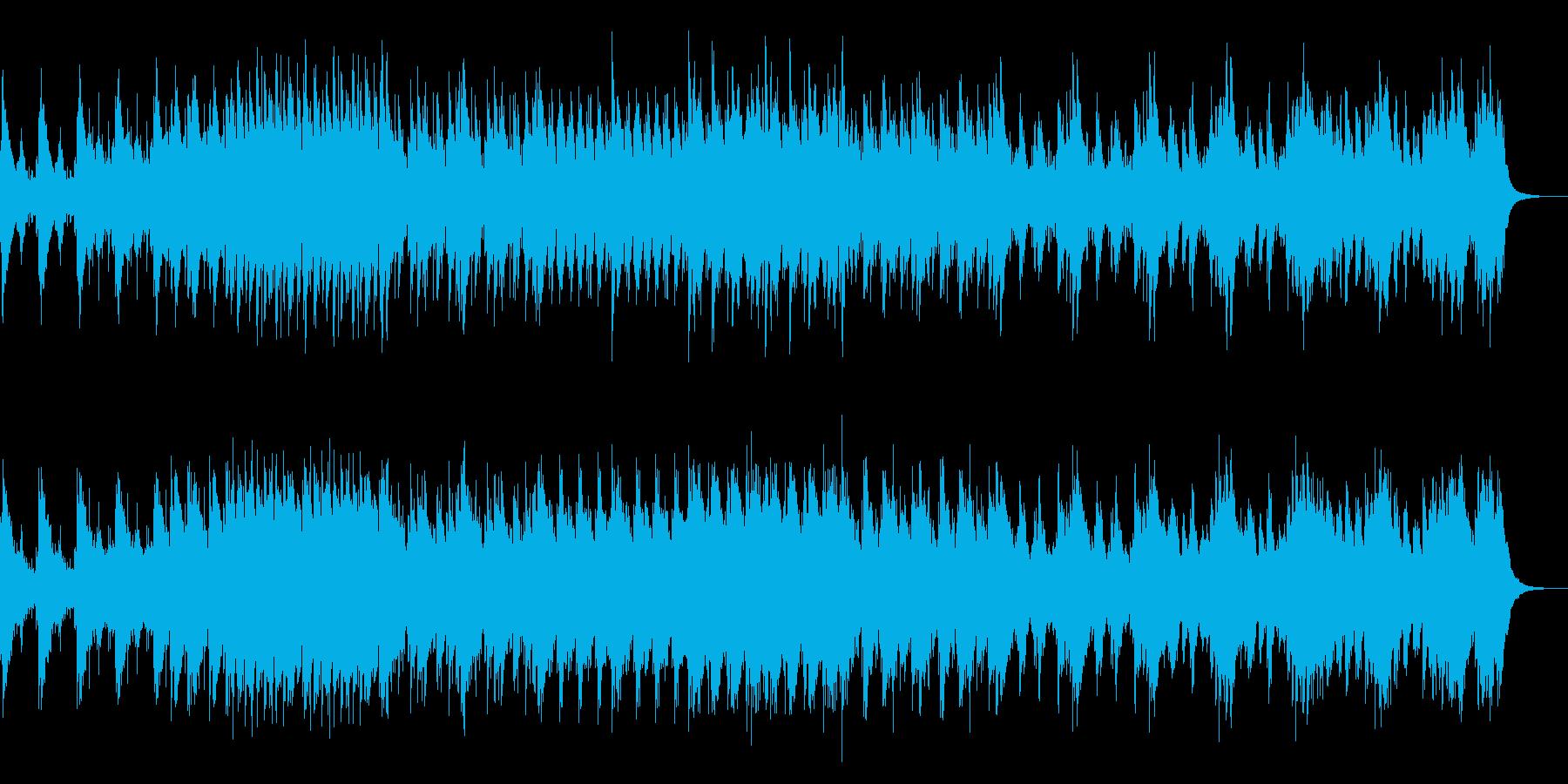 和風 現代的な和太鼓アンサンブルの再生済みの波形