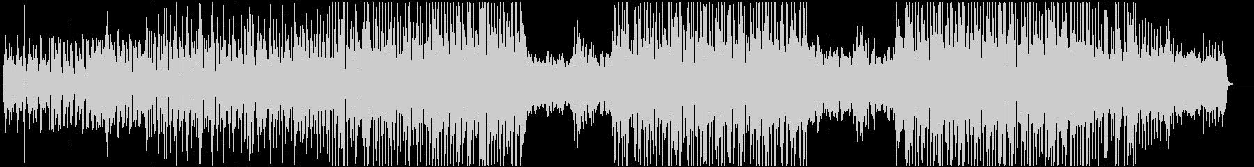 都会的なピアノリフのエレクトロニックの未再生の波形