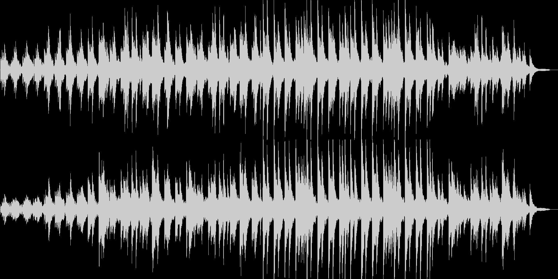 感動的・幸せ・リラックス・静けさ・ピアノの未再生の波形