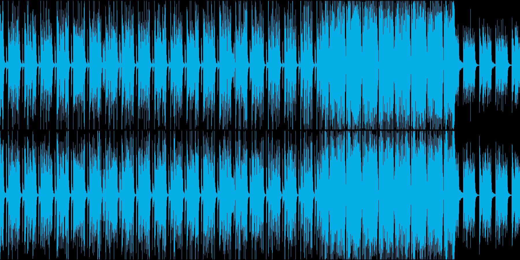 爽やかでポップに朝が始まるBGMの再生済みの波形