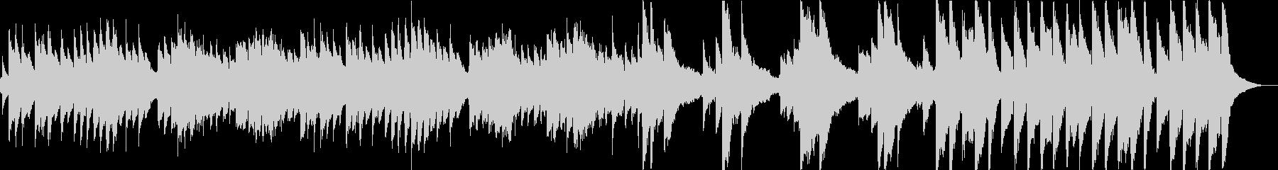 輝くような綺麗な音色が特徴のアコギ曲の未再生の波形