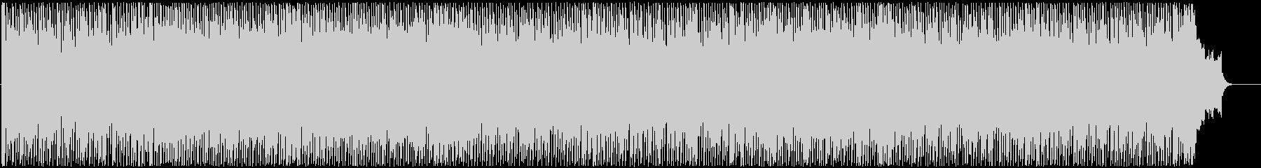 ウキウキするような楽しいBGMの未再生の波形