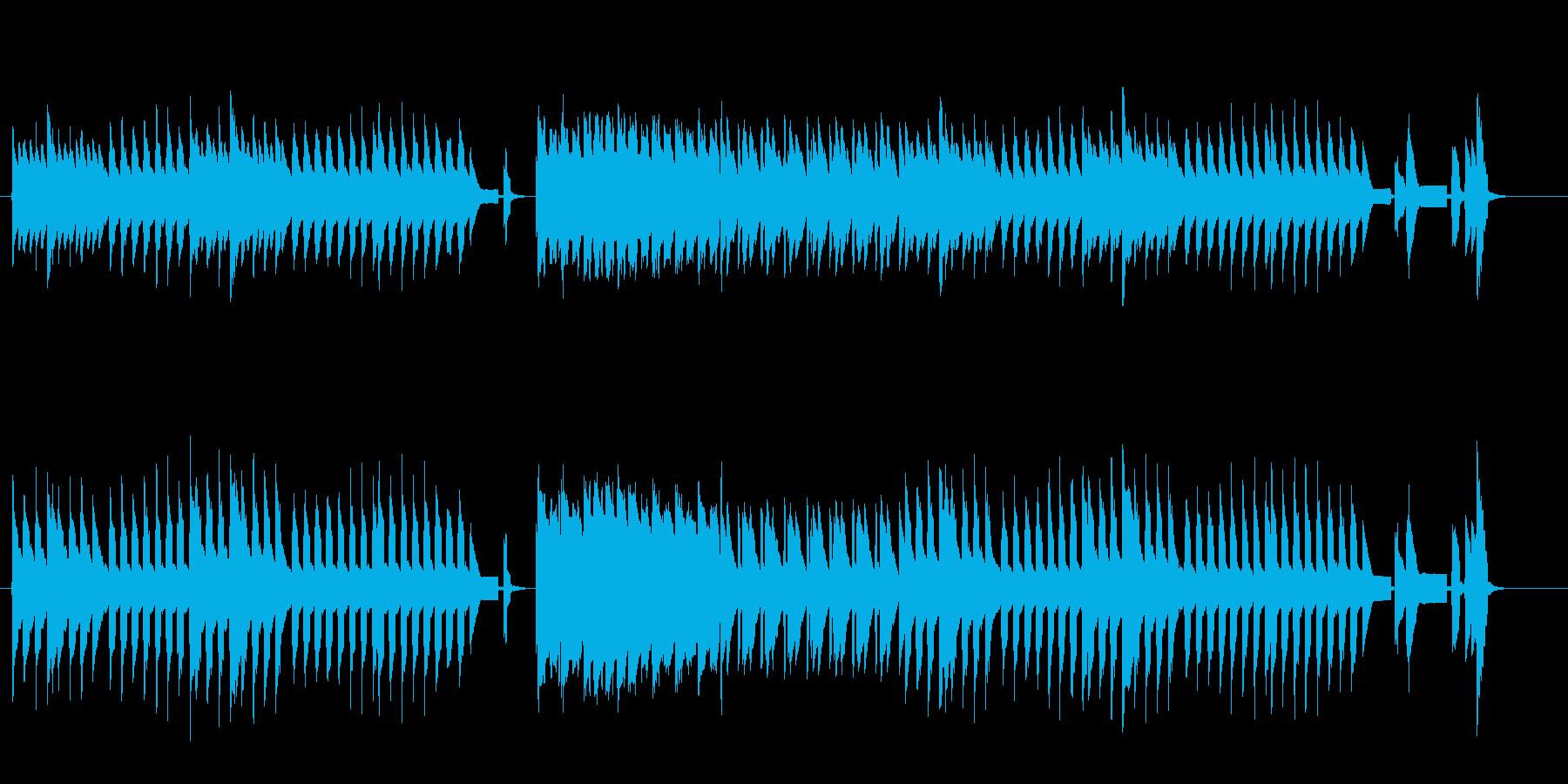 8bit -卵の殻をつけた雛の踊り-の再生済みの波形