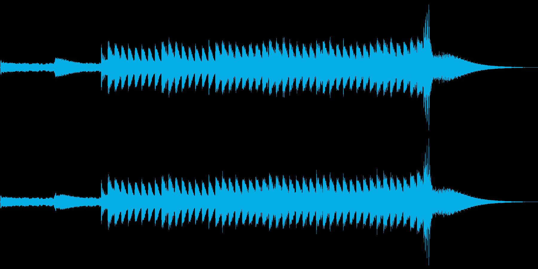 少し長めのCMを想定して作りました。テ…の再生済みの波形