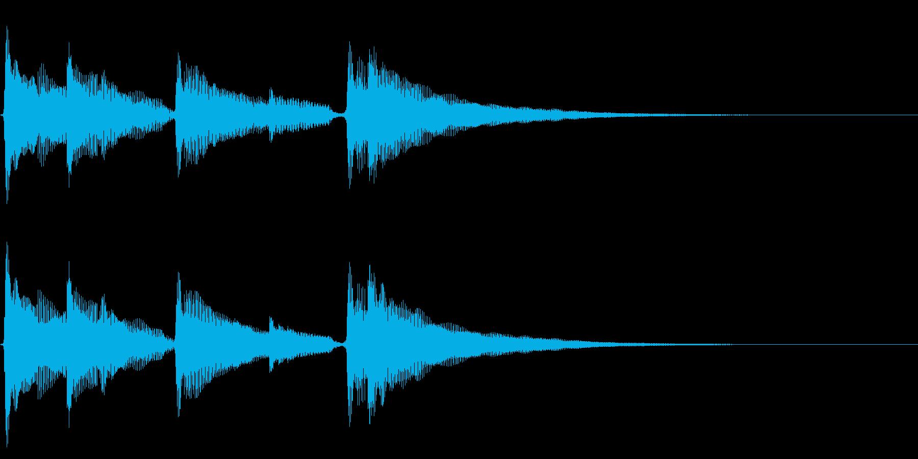 アコギ生音のジングル/爽やか4の再生済みの波形