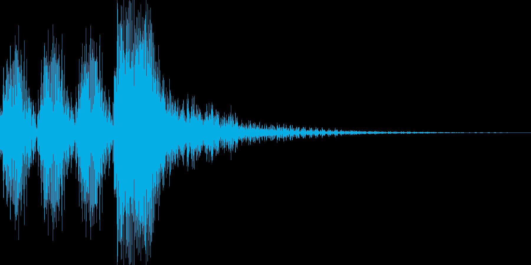 タタタタン(水〇黄門風)の再生済みの波形