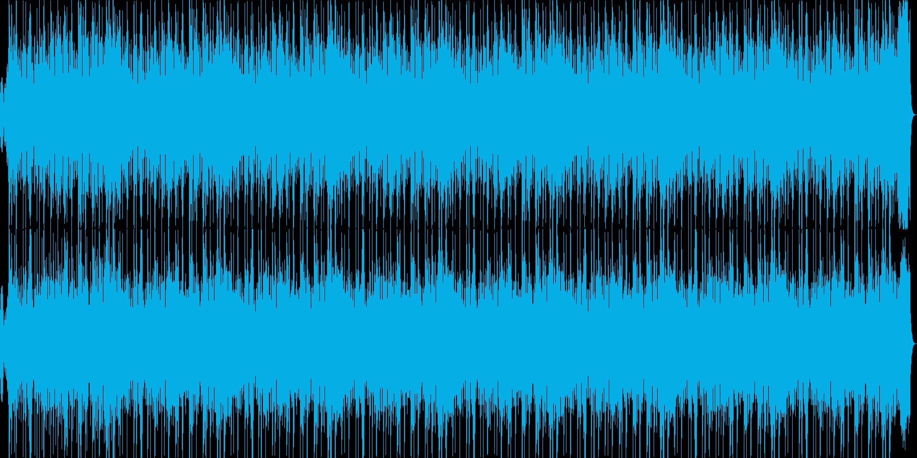 オーケストラ演劇用ナレーションBGMの再生済みの波形