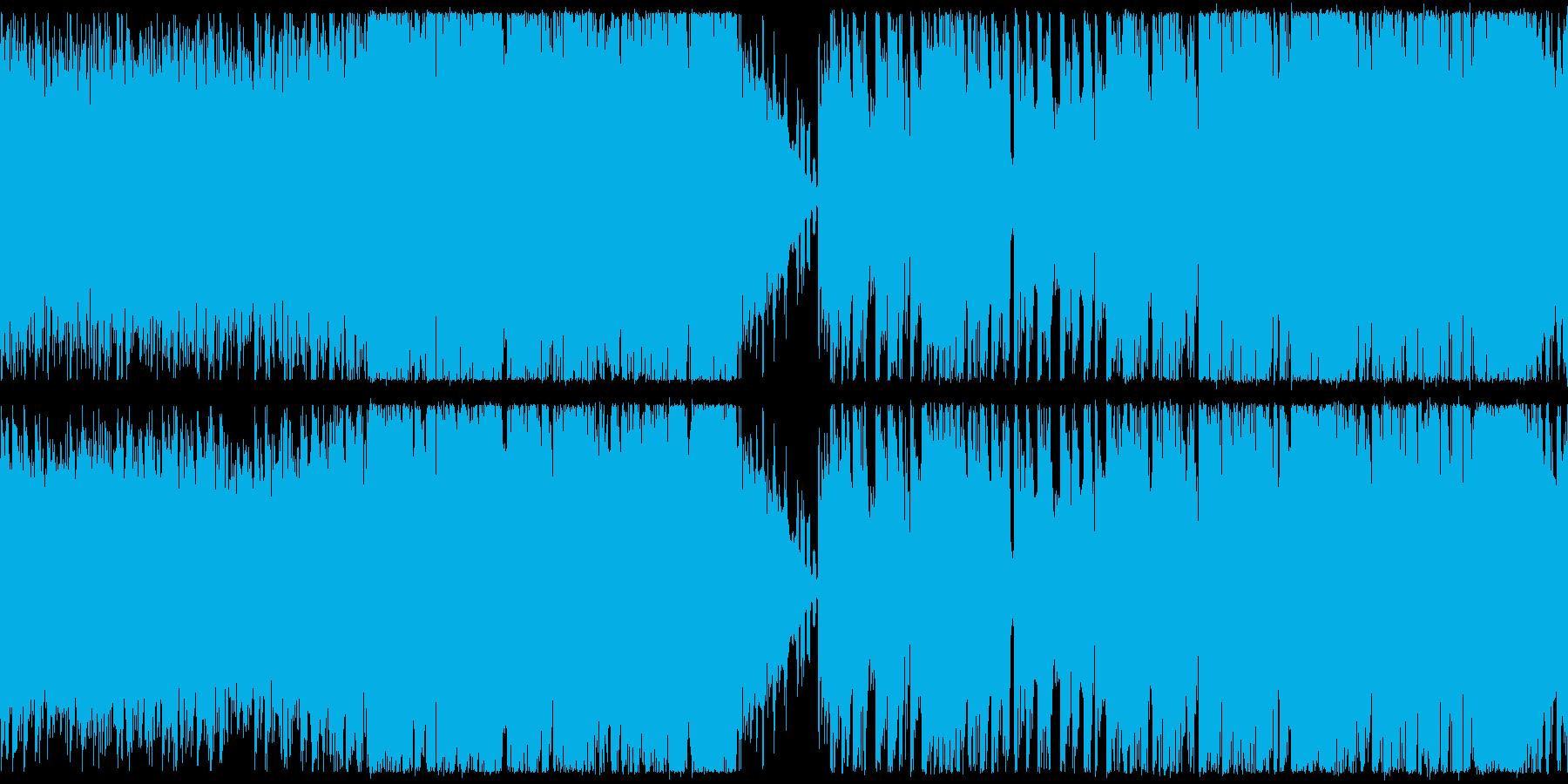 【ループ仕様】RPGバトル向けBGMの再生済みの波形