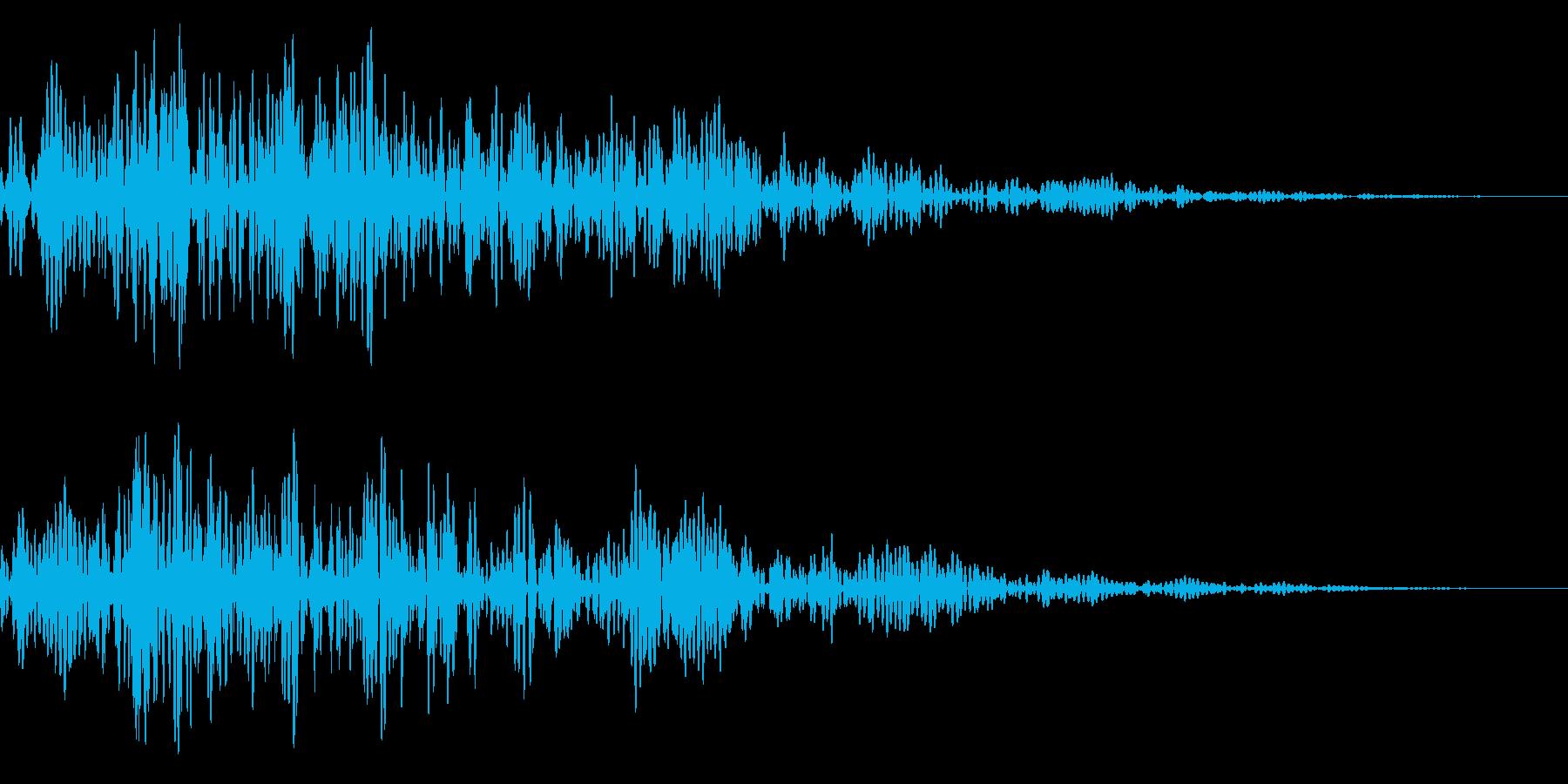 シネマティック/カットイン/風切り23bの再生済みの波形