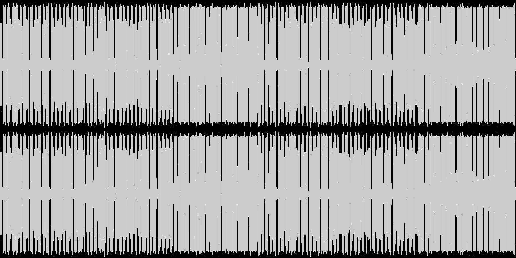 ファミコン風BGMですの未再生の波形