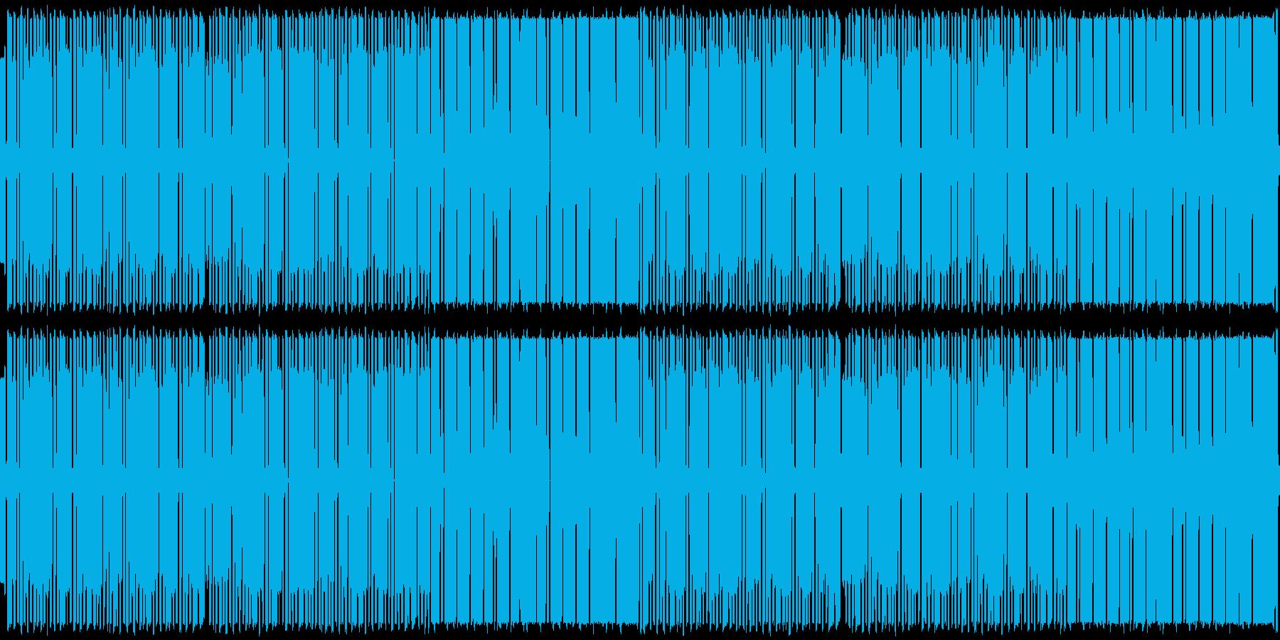 ファミコン風BGMですの再生済みの波形