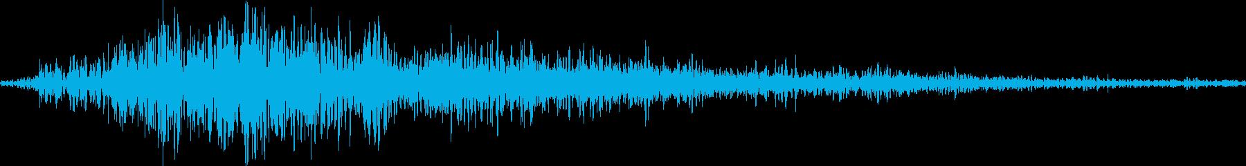 RPG:魔法詠唱「シュワンッ」の再生済みの波形