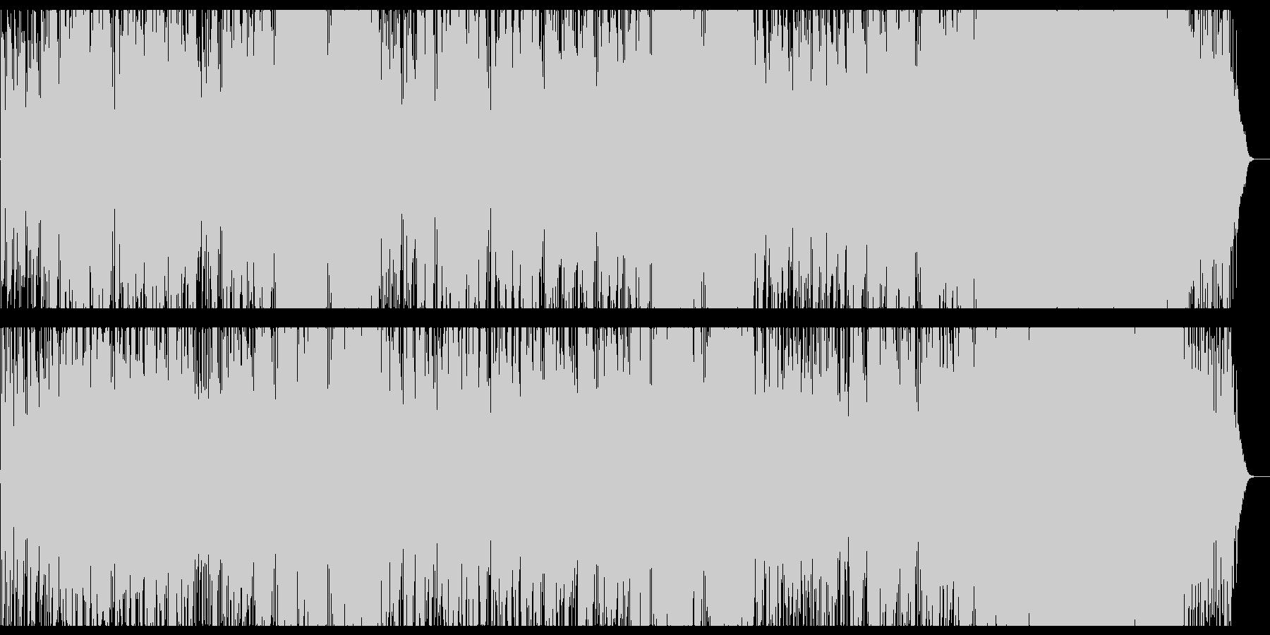 フルートが爽やかなCM向きのお洒落BGMの未再生の波形