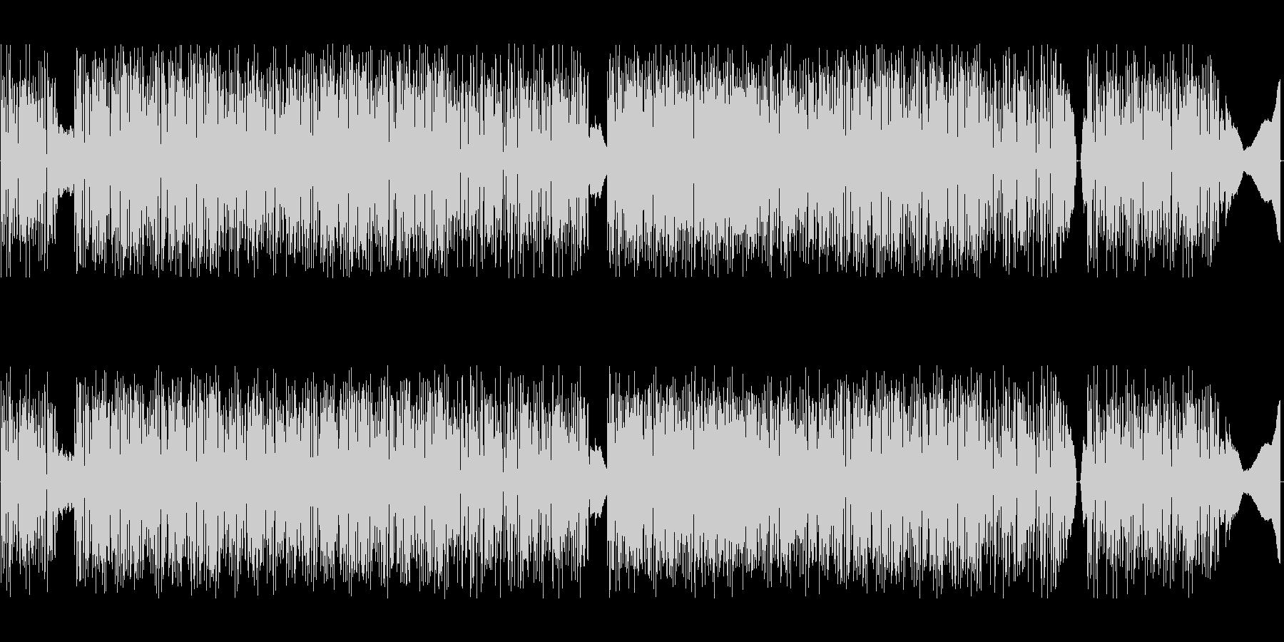 ドラムンベースwithクラシックギターの未再生の波形