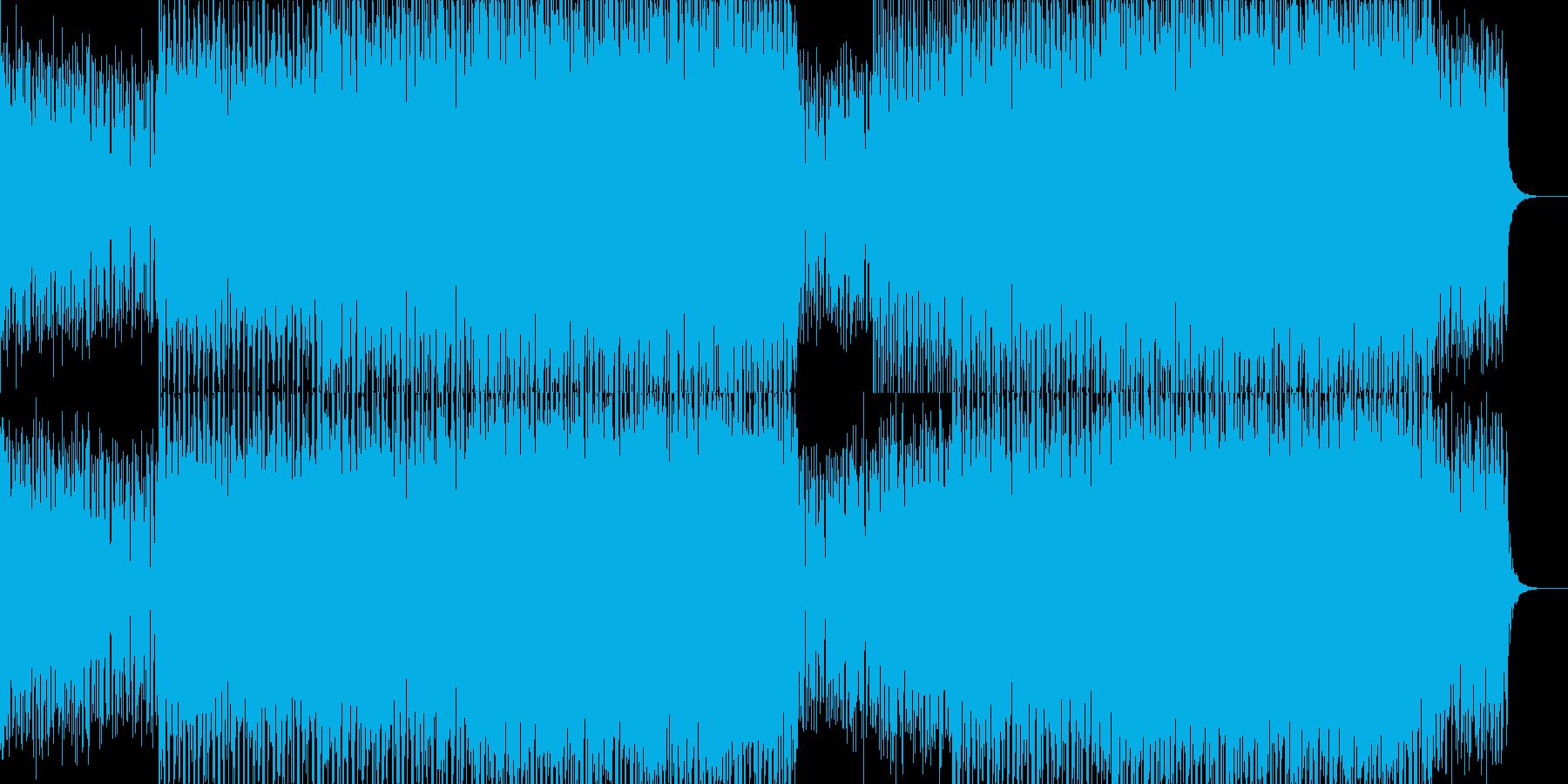 EDMポップで明るいクラブ系-72の再生済みの波形