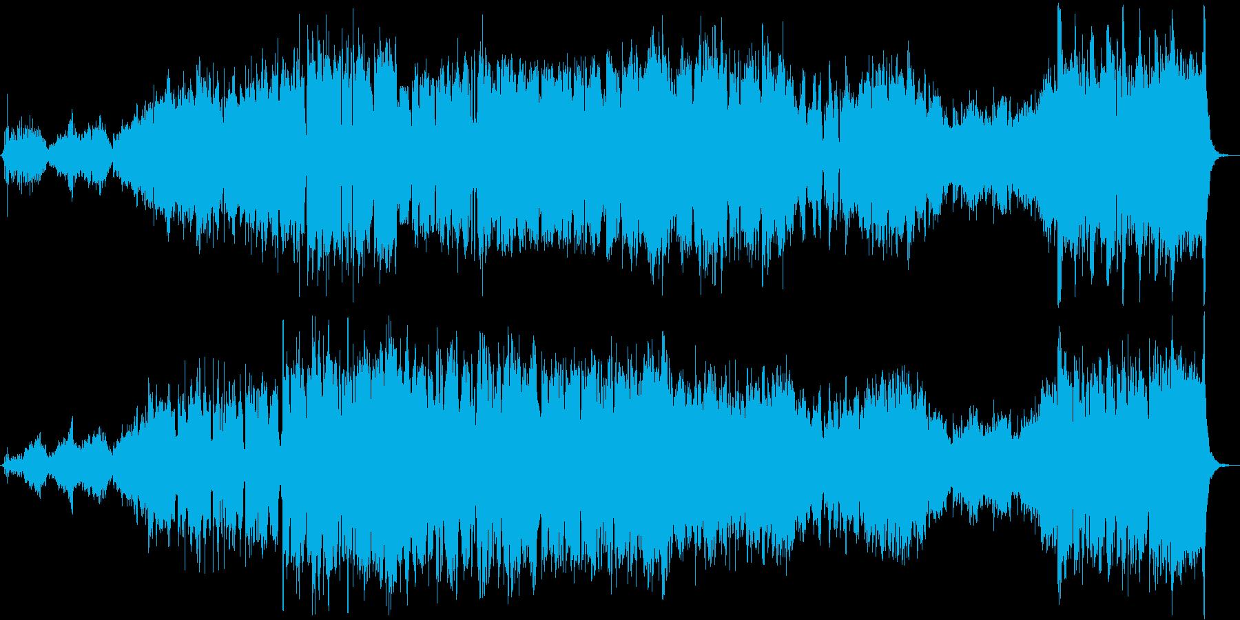 異国の雰囲気が漂う幻想的な木管五重奏の再生済みの波形