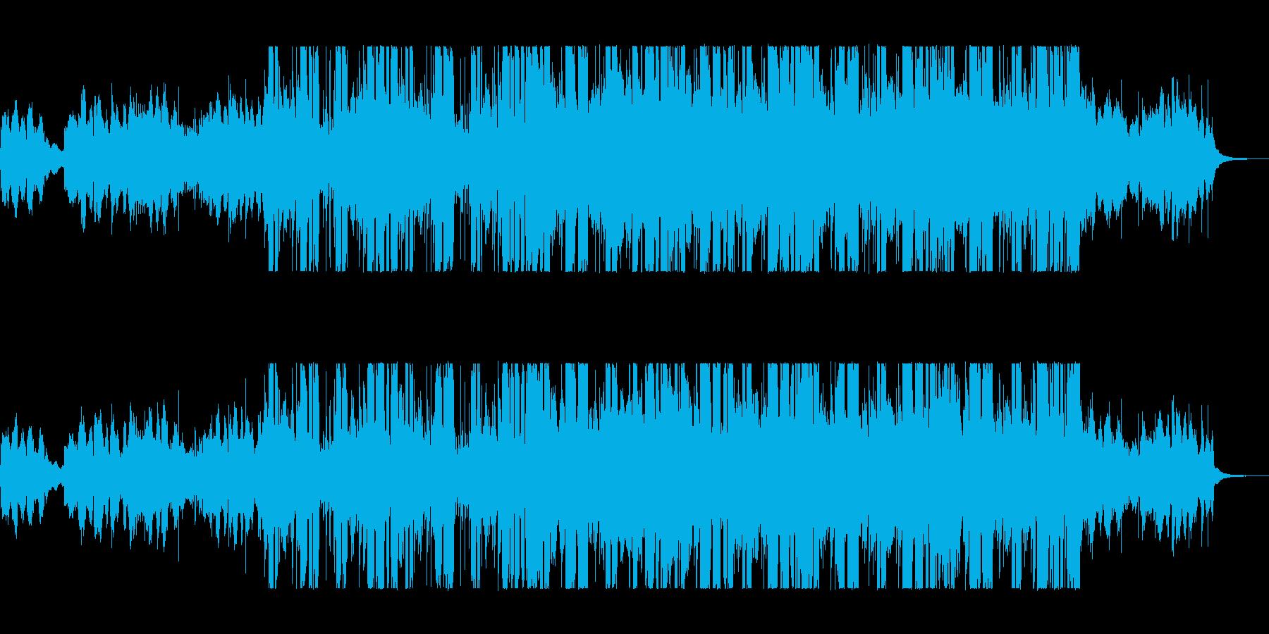 緩やかで穏やかなシンセポップサウンドの再生済みの波形