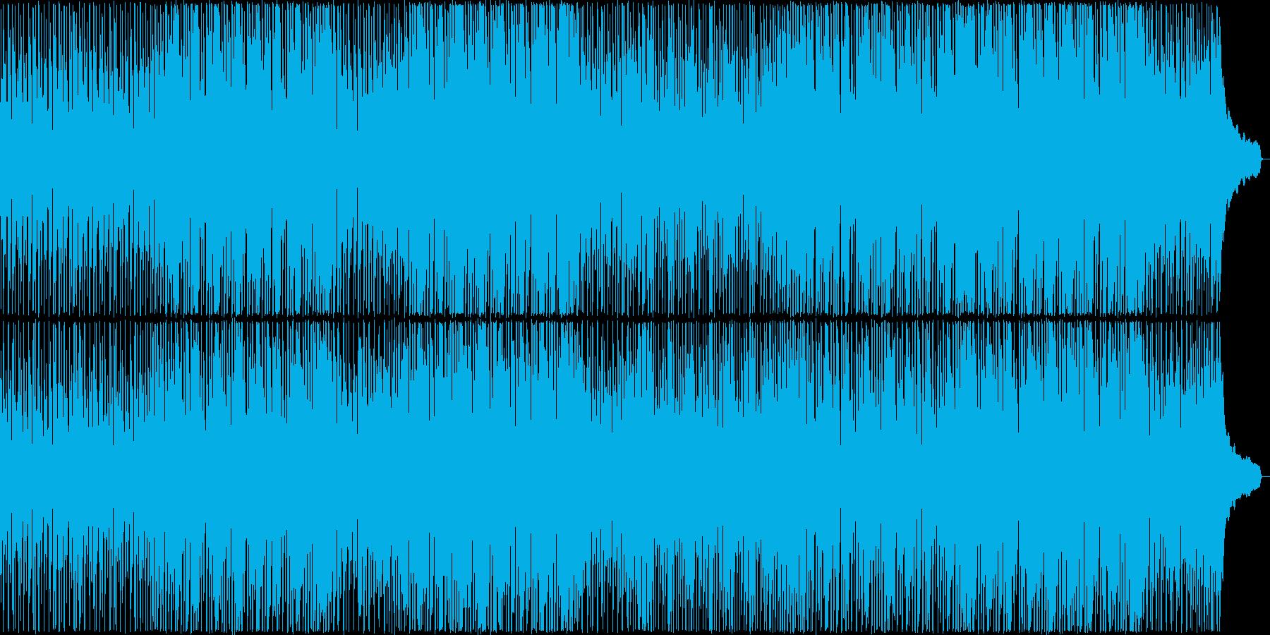 口笛メロディのアップビートポップBGM♪の再生済みの波形