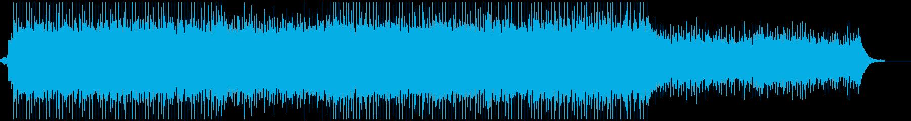 ピアノがきらきら綺麗なBGM3−2の再生済みの波形