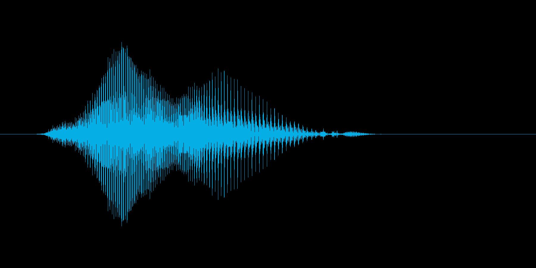 Hi(ハーイ)の再生済みの波形