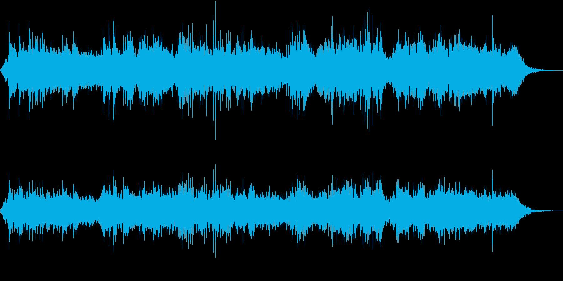 エレガットギターがメインのバラードの再生済みの波形