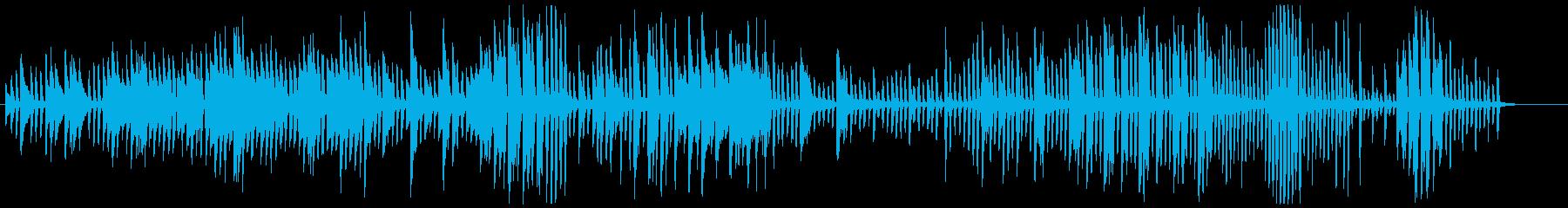 全音階を多用した奇妙なイメージBGMの再生済みの波形