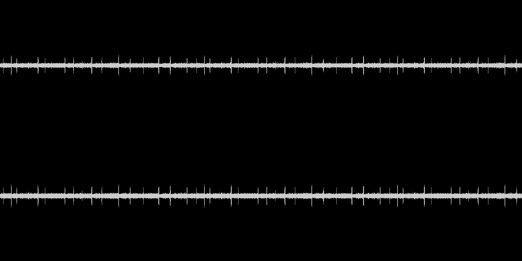 ザー(ラジオの動作音)の未再生の波形