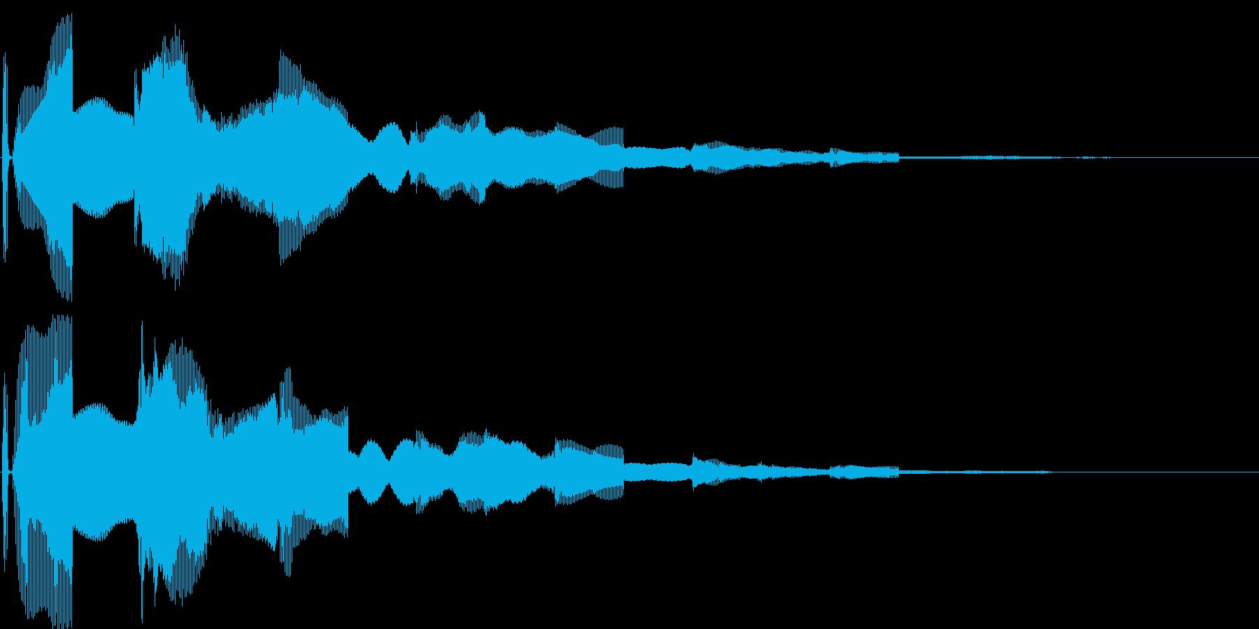 汎用決定ボタン - 2の再生済みの波形