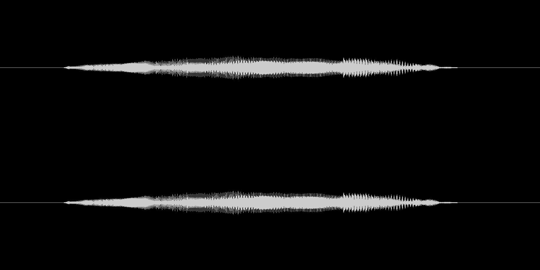 ニャー_猫声-02の未再生の波形