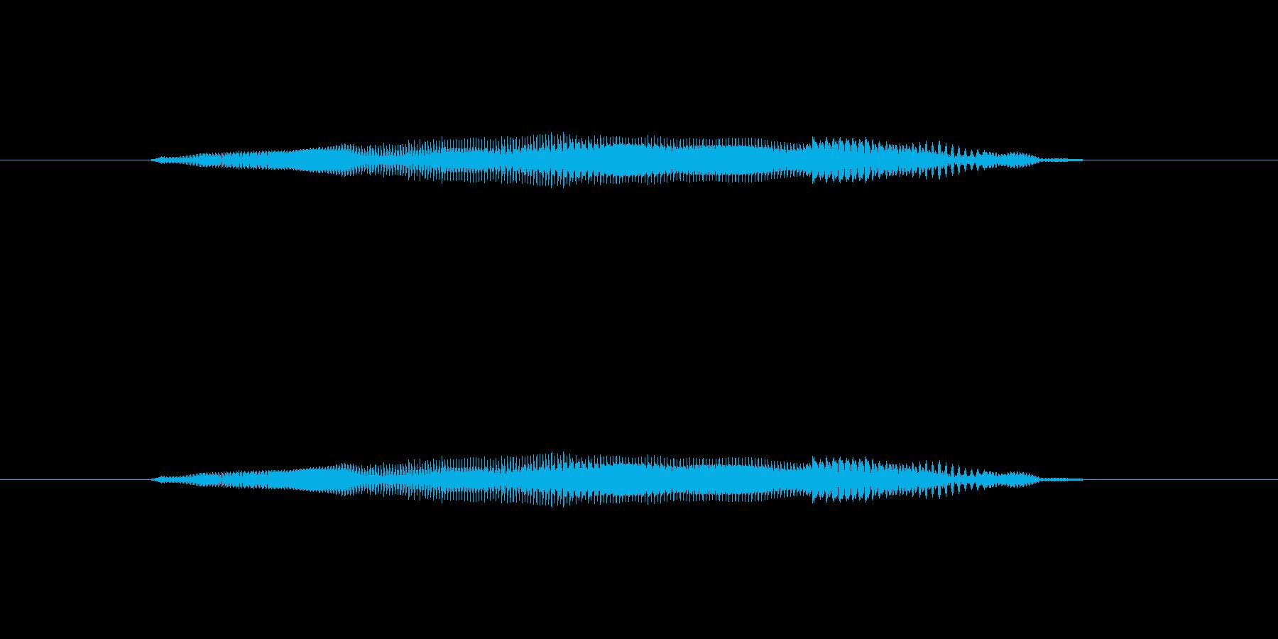 ニャー_猫声-02の再生済みの波形