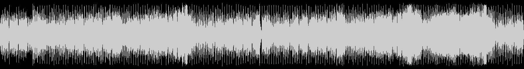 スタイリッシュなハウス風チップチューンの未再生の波形