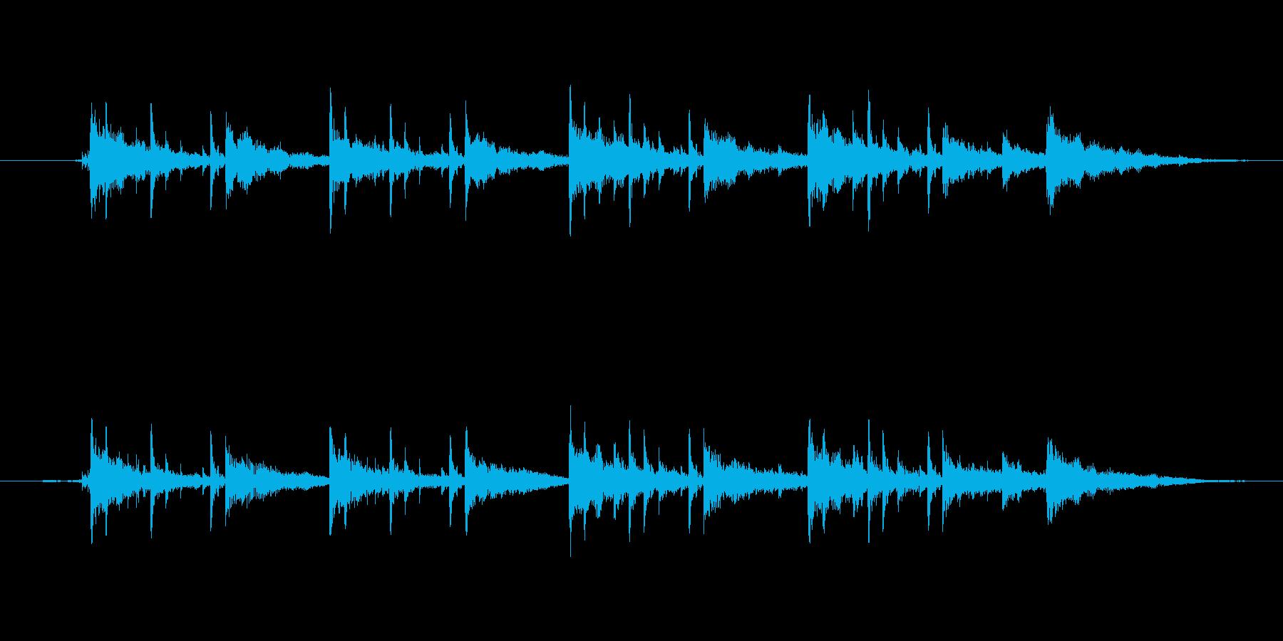 広い用途で使えるイージーリスニング楽曲。の再生済みの波形