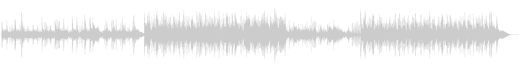 メルヘンチックなピアノバラードの未再生の波形