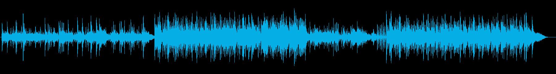 メルヘンチックなピアノバラードの再生済みの波形