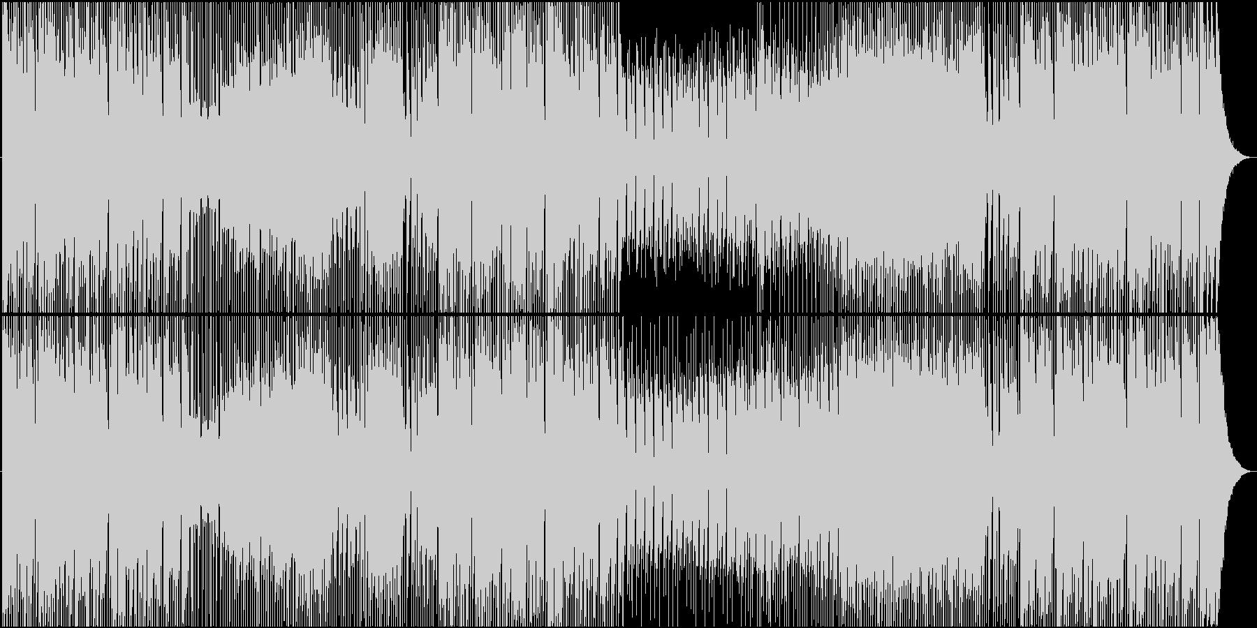 ほのぼのとぼけた子供小動物向けBGMの未再生の波形
