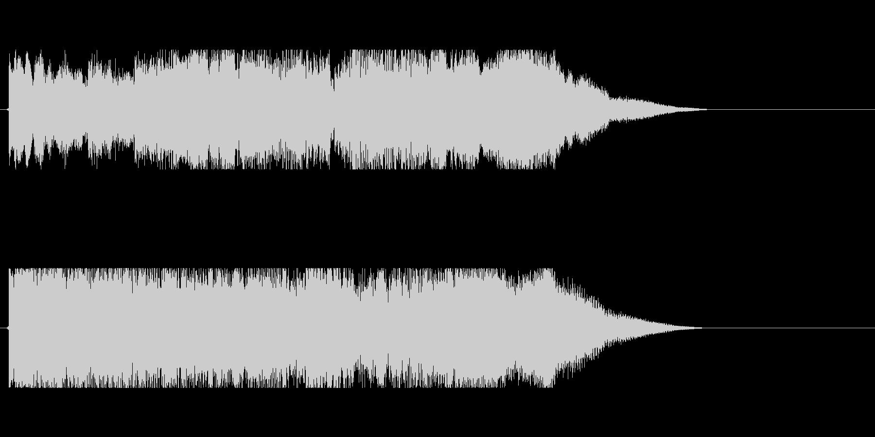 サウンドロゴ(ギター)の未再生の波形