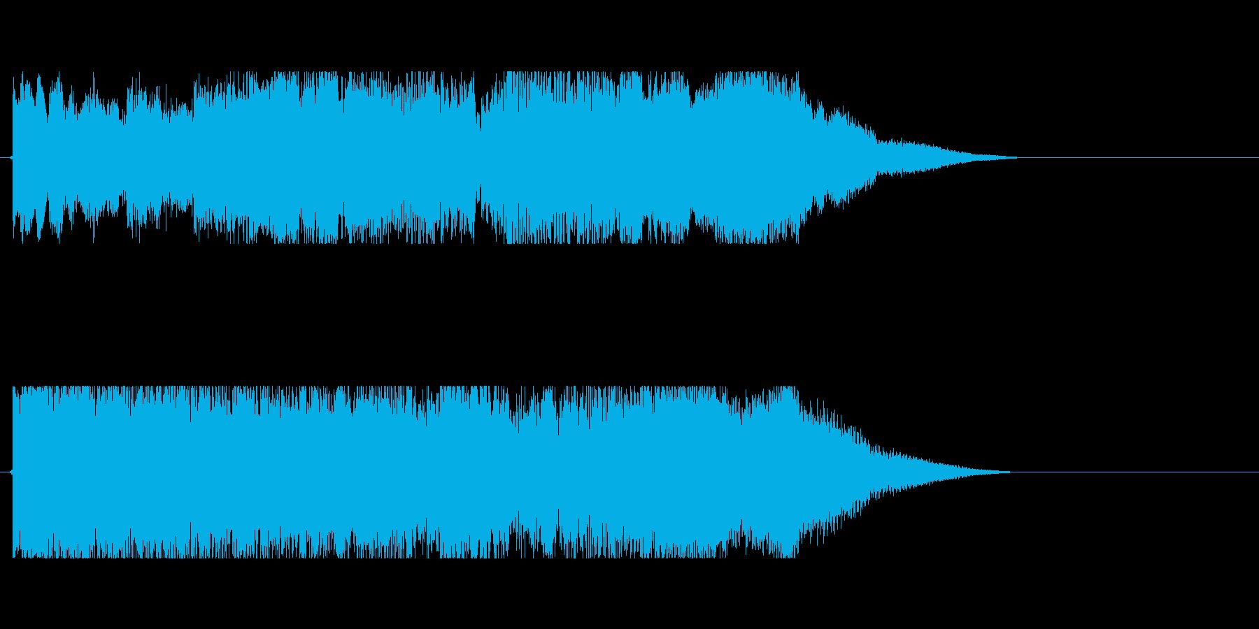 サウンドロゴ(ギター)の再生済みの波形