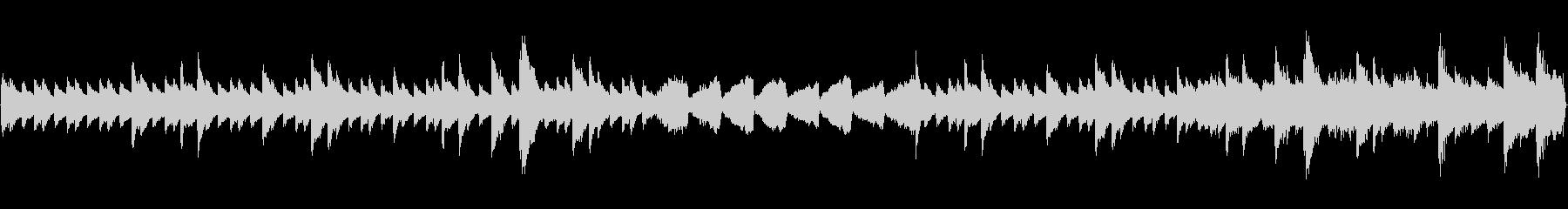 ミステリーホラーピアノオーケストラループの未再生の波形